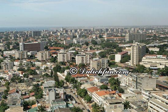 Hướng dẫn đi tham quan, vui chơi, ăn uống khi du lịch Angola: Đi đâu, chơi gì khi du lịch Angola? Thủ đô Luanda, địa điểm tham quan, du lịch nổi tiếng ở Angola