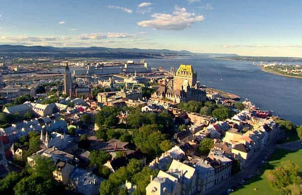 Kinh nghiệm du lịch Québec, Canada phố cổ châu Âu. Hướng dẫn, cẩm nang du lịch Québec, Canada cụ thể đường đi, vé máy bay, ăn ở...