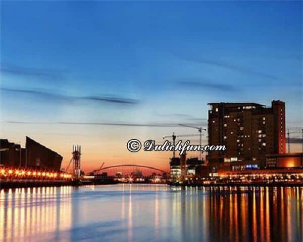 Kinh nghiệm du lịch Manchester thành phố của những giấc mơ. Hướng dẫn cẩm nang du lịch Manchester cụ thể đường đi, ăn uống, chỗ ở.