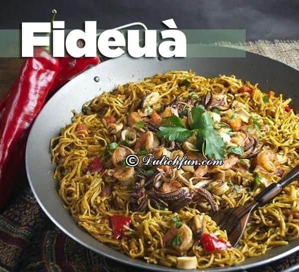 Tây Ban Nha có đặc sản gì ngon, nổi tiếng? Du lịch Tây Ban Nha nên ăn gì? Những món ăn đặc sản nổi tiếng Tây Ban Nha.