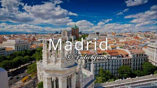 Những khu chợ, trung tâm thương mại mua sắm sầm uất ở Madrid: Top địa điểm mua sắm nổi tiếng ở Madrid, Tây Ban Nha rẻ, đẹp. Kinh nghiệm mua sắm, điểm mua sắm chất lượng, giá rẻ ở Madrid