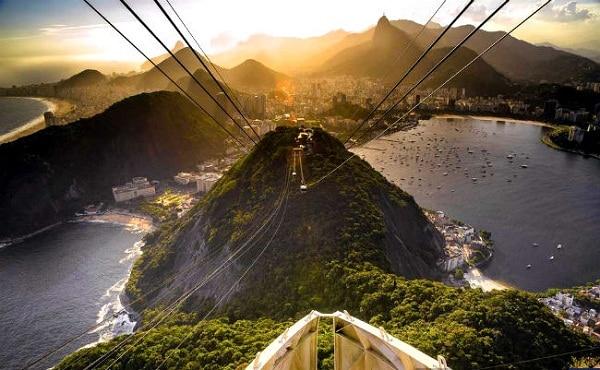 Danh lam thắng cảnh đẹp, nổi tiếng ở Rio de Janeiro, Brazil: Những điểm du lịch ở Rio de Janeiro, Brazil đẹp. Những điểm tham quan nổi tiếng ở Rio de Janeiro