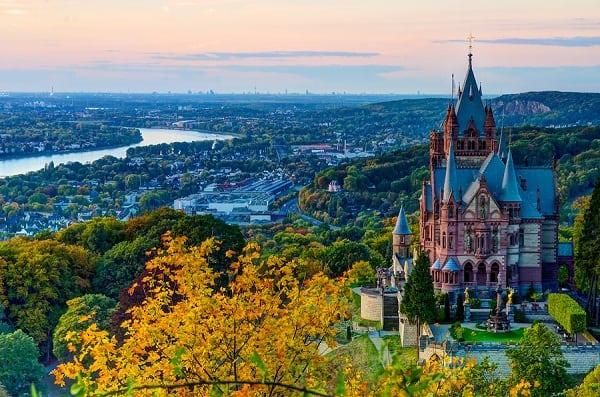 Kinh nghiệm du lịch thành phố Bonn giá rẻ, thú vị nhất: Địa điểm tham quan, vui chơi, ngắm cảnh chụp ảnh đẹp ở Bonn, Đức