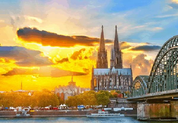 Kinh nghiệm du lịch Cologne, Đức tự túc, giá rẻ: Danh lam thắng cảnh đẹp, nổi tiếng ở Cologne