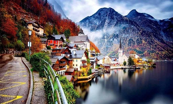 Kinh nghiệm du lịch Hallstatt bức tranh tuyệt Mỹ của nước Áo. Những địa điểm tham quan, vui chơi, ngắm cảnh, chụp ảnh đẹp ở Hallstatt, Áo