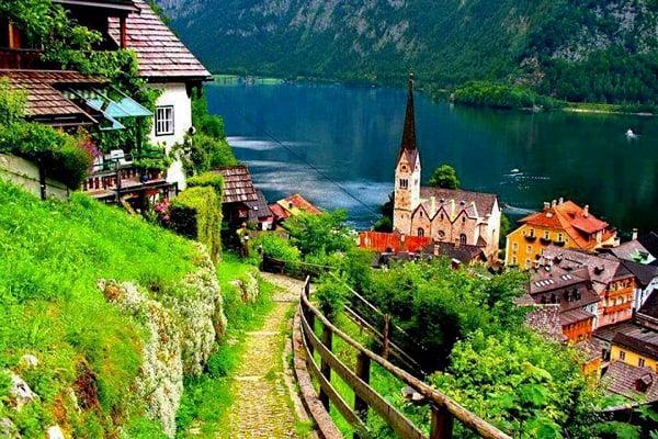 Kinh nghiệm du lịch Hallstatt, Áo. Danh lam thắng cảnh đẹp, nổi tiếng ở Hallstatt, Áo