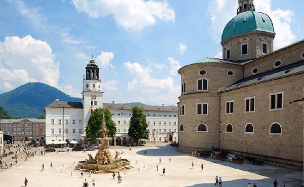Kinh nghiệm du lịch Salzburg tự túc, giá rẻ: Địa điểm tham quan, danh lam thắng cảnh đẹp, nổi tiếng ở Salzburg