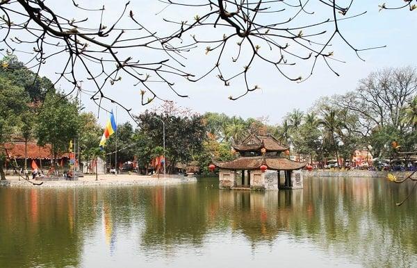 Kinh nghiệm du lịch chùa Thầy đường đi, xe bus. Hướng dẫn, cẩm nang du lịch chùa Thầy điểm tham quan, lưu ý, xe bus đi qua...