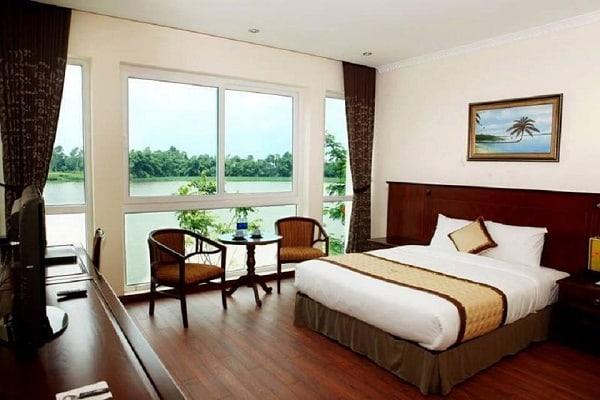 Kinh nghiệm đi Sông Hồng resort, Vĩnh Phúc cụ thể, tiết kiệm. Phòng ốc của Sông Hồng Resort Vĩnh Phúc có sạch sẽ, tiện nghi không?