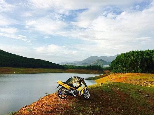 Kinh nghiệm đi hồ Hòa Trung điểm đến độc đáo du lịch Đà Nẵng. Hướng dẫn, cẩm nang, phượt hồ Trung Hòa đường đi, thời điểm...
