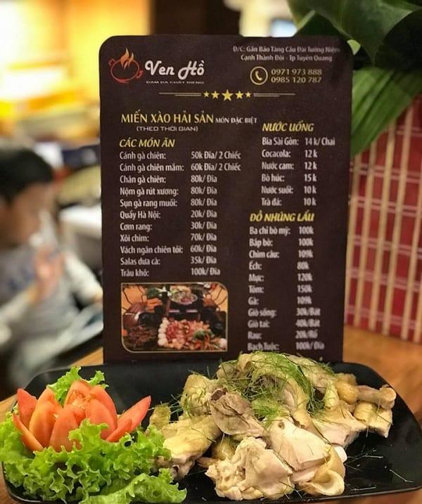 Địa chỉ ăn uống ngon, nổi tiếng, đông khách ở Tuyên Quang: Du lịch Tuyên Quang nên ăn ở đâu?