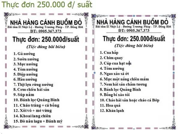 Địa chỉ ăn uống ngon, rẻ ở biển Nhật Lệ, Quảng Bình: Nên ăn ở đâu khi du lịch biển Nhật Lệ Quảng Bình