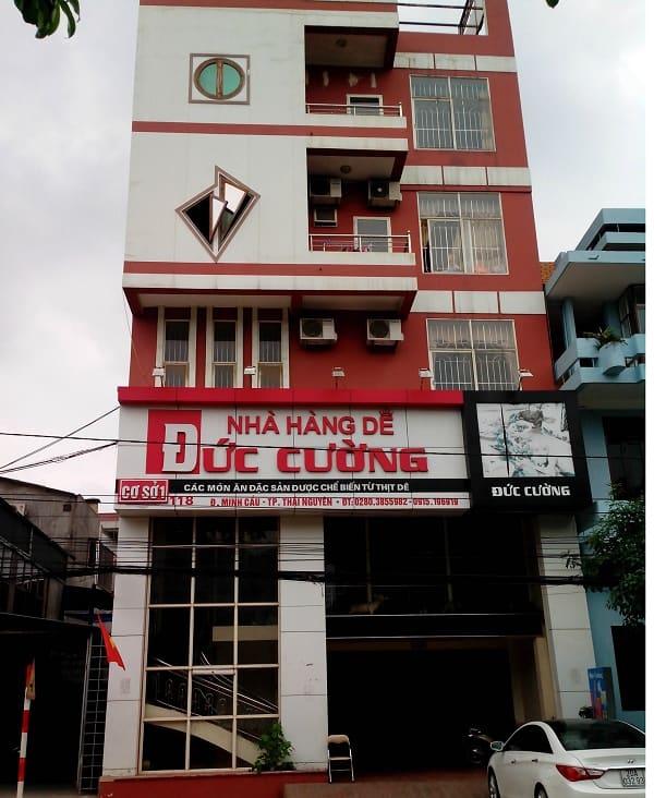 Địa chỉ quán ăn ngon, nổi tiếng ở Thái Nguyên kèm ĐT, giá