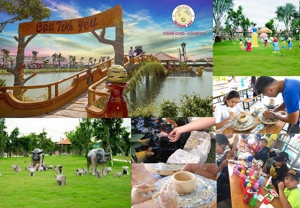 Hoạt động tham quan, vui chơi, giải trí hấp dẫn ở khu du lịch Trường Huy: Các trò chơi vui nhộn ở khu du lịch Trường Huy