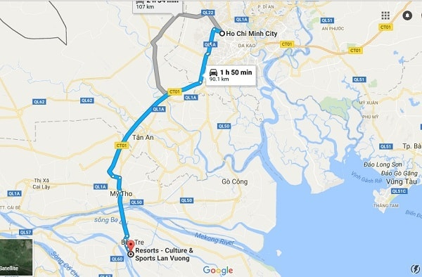Hướng dẫn đường đi, phương tiện di chuyển tới khu du lịch Lan Vương: Tới khu du lịch Lan Vương bằng đường nào, phương tiện gì nhanh?