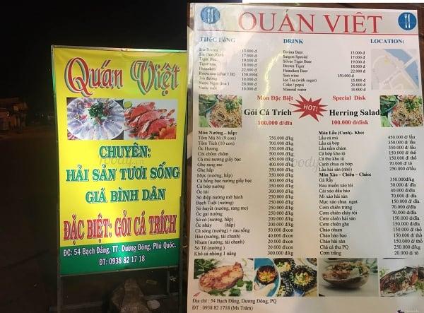 Địa chỉ quán ăn đêm ngon, nổi tiếng ở Phú Quốc: Ăn đêm ở đâu Phú Quốc ngon, bổ, rẻ?