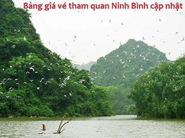 Thông tin giá vé, điện thoại, địa chỉ các khu du lịch ở Ninh Bình: Bảng giá vé tham quan các địa điểm du lịch nổi tiếng ở Ninh Bình
