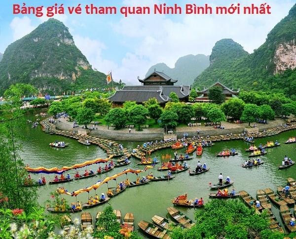 Tổng hợp bảng giá vé tham quan Ninh Bình mới nhất: Thông tin địa chỉ, giá vé, điên thoại các khu du lịch nổi tiếng ở Ninh Bình