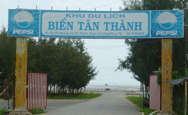 Kinh nghiệm du lịch biển Tân Thành Gò Công cực đẹp cực vui. Đường đi, giá vé, thời điểm tham quan, du lịch biển Tân Thành
