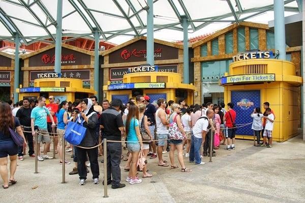 Bảng giá vé tham quan các KDL ở Singapore cụ thể, mới nhất