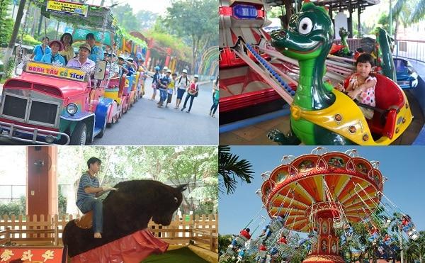 Công viên văn hóa Đầm Sen ở đâu, có trò chơi gì vui? Kinh nghiệm đi vui chơi, ăn uống ở công viên văn hóa Đầm Sen, TP Hồ Chí Minh