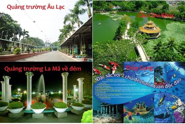 Địa điểm tham quan, ngắm cảnh đẹp ở công viên văn hóa Đầm Sen: Kinh nghiệm đi tham quan, vui chơi ở công viên văn hóa Đầm Sen