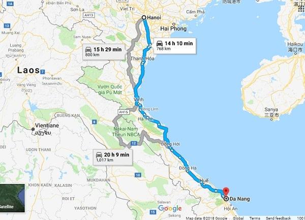Hướng dẫn cách di chuyển từ Hà Nội đến Đà Nẵng du lịch: Du lịch Đà Nẵng từ Hà Nội bằng phương tiện gì?