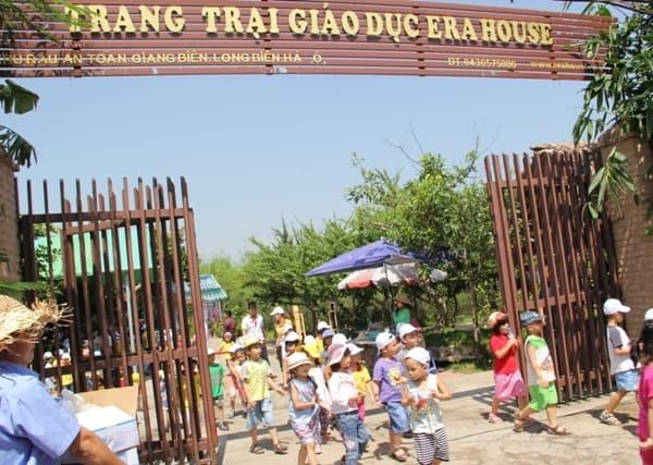 Kinh nghiệm đi chơi dã ngoại ở nông trại giáo dục Erahouse Long Biên, Hà Nội: Hướng dẫn đi tham quan, vui chơi, ăn uống ở nông trại giáo dục Erahouse Hà Nội
