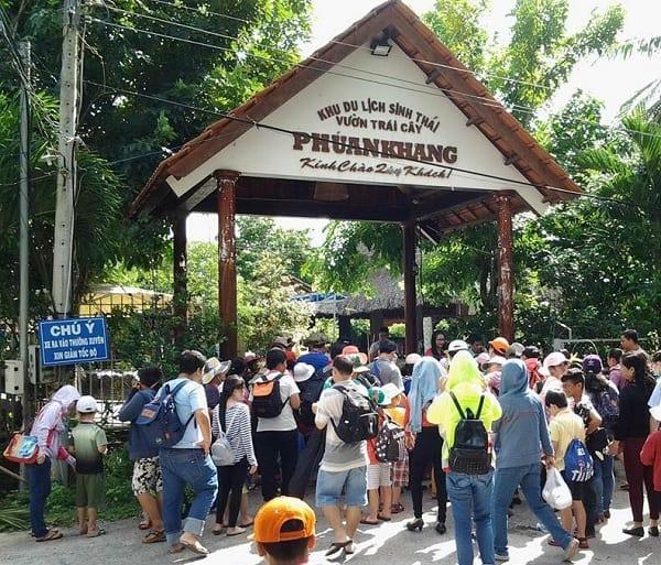 Kinh nghiệm đi khu du lịch Phú An Khang, Bến Tre kèm giá vé