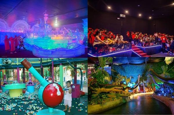 Kinh nghiệm du lịch công viên Đầm Sen, Sài Gòn: Các trò chơi giải trí thú vị, hấp dẫn ở công viên văn hóa Đầm Sen, Sài Gòn