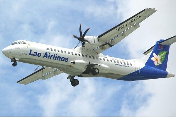 Phương tiện đi từ Vientiane đến Luang Prabang du lịch: Di chuyển từ Vientiane tới Luang Prabang bằng máy bay
