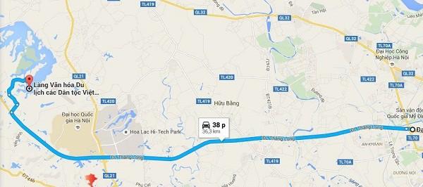 Kinh nghiệm đi làng văn hóa các dân tộc Việt Nam. Hướng dẫn, phượt làng văn hóa các dân tộc đường đi, xe bus, lộ trình, giá vé.
