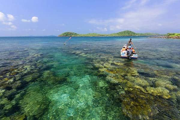 Kinh nghiệm đi hòn Móng Tay Phú Quốc cụ thể kèm lộ trình. Hướng dẫn, cẩm nang, phượt hòn Móng Tay cụ thể kèm giá tàu, trải nghiệm