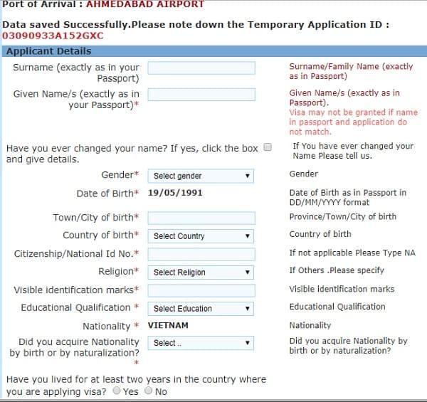 Cách xin visa đi Ấn Độ online: Hướng dẫn xin visa đi du lịch Ấn Độ trực tuyến