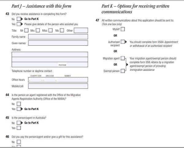Hướng dẫn cách viết form xin visa đi du lịch Úc: Điền form xin visa đi du lịch Úc mẫu 1419 như thế nào?