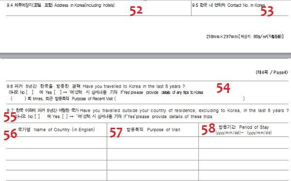 Hướng dẫn viết form xin visa đi Hàn Quốc: Điền đơn xin visa đi Hàn Quốc như thế nào?