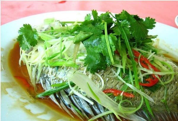 Du lịch Tô Châu nên ăn đặc sản gì? Món cá hấp, ẩm thực truyền thống đặc sắc ở Tô Châu