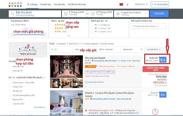 Hướng dẫn cách chọn phòng và đặt phòng khách sạn trên agoda: Quy trình các bước đặt phòng khách sạn trực tuyến trên agoda