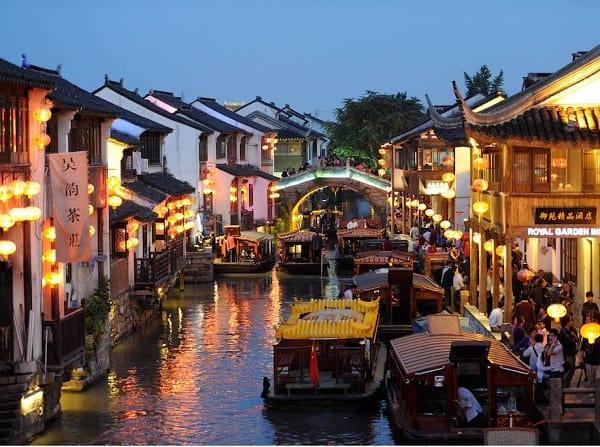 Tô Châu điểm đến hấp dẫn của Trung Quốc