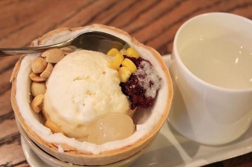 Kem xôi Bubu - quán kem ngon ở quận 7, Sài Gòn: Quận 7, Sài Gòn có quán ăn vặt nào ngon, nổi tiếng?