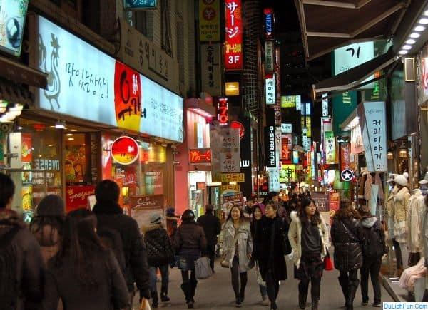Địa điểm mua sắm nổi tiếng, giá rẻ ở Seoul: Nên đi đâu mua sắm ở Seoul?