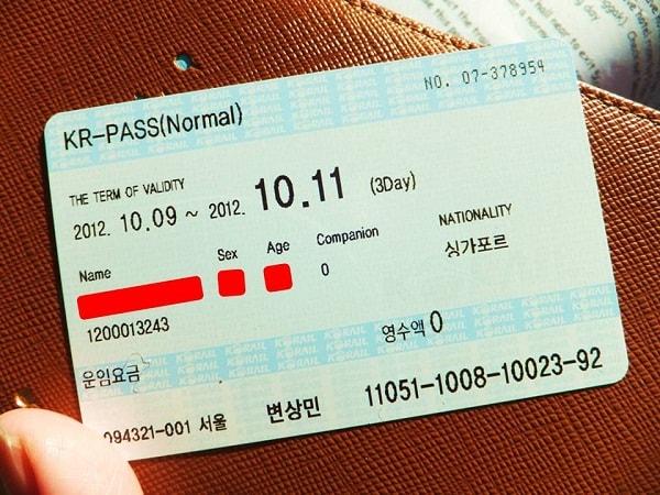 Kinh nghiệm đi tàu từ Busan tới Seoul bằng Korea Rail Pass