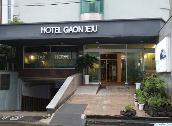 Du lịch đảo Jeju nên ở khách sạn nào? Khách sạn giá rẻ ở đảo Jeju nên đặt phòng