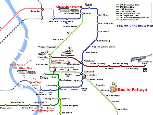 Kinh nghiệm đi tàu điện ở Bangkok an toàn, thuận tiện. Hướng dẫn di chuyển đơn giản bằng tàu điện ở Bangkok toàn diện từ A tới Z.