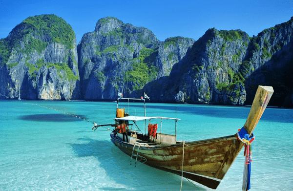 Kinh nghiệm du lịch vịnh Phang Nga Hạ Long của Thái Lan. Hướng dẫn, cẩm nang tham quan Phang Nga cụ thể đường đi, ăn ở, mua sắm.