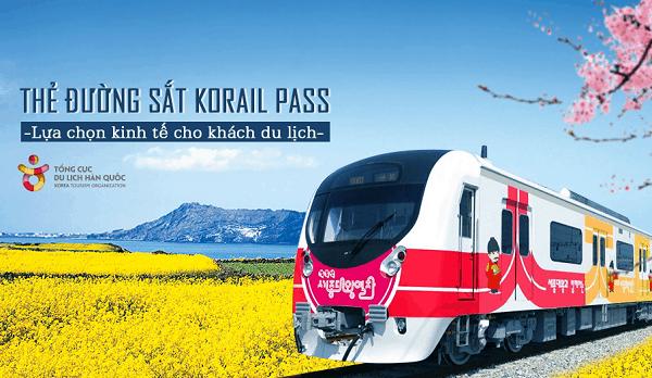 Hướng dẫn đi tàu từ Busan tới Seoul bằng Korea Rail Pass. Kinh nghiệm mua vé KR Pass di chuyển ở Hàn Quốc cụ thể giá vé, lộ trình.