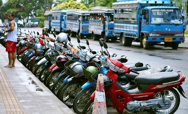 Kinh nghiệm thuê xe máy ở Chiang Mai, Thái Lan rẻ, an toàn. Thuê xe máy ở đâu Chiang Mai, địa chỉ cho thuê nào uy tín?