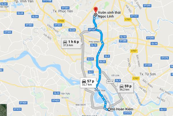 Review chi tiết vườn sinh thái Ngọc Linh, Sóc Sơn kèm giá