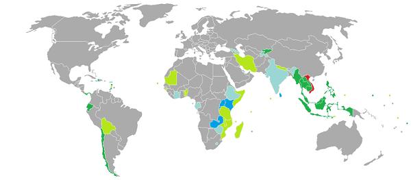 Danh sách các nước miễn visa thị thực cho người Việt Nam. Du lịch nước nào mà người Việt Nam được miễn visa, thị thực?