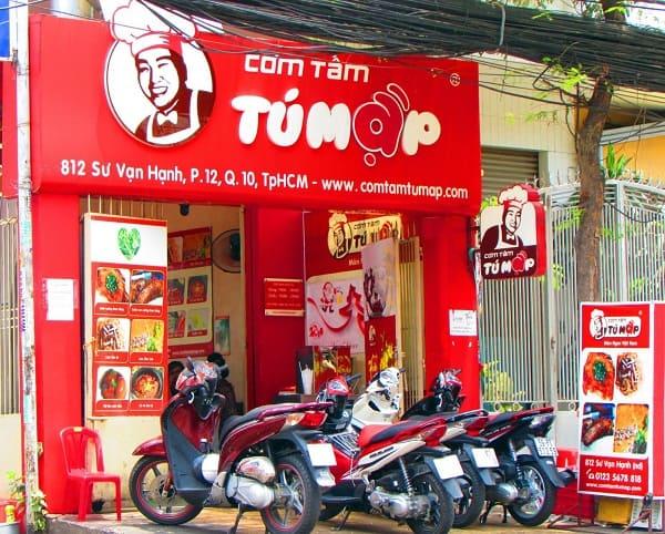 Địa chỉ các quán cơm tấm ngon, đông khách bậc nhất Sài Gòn